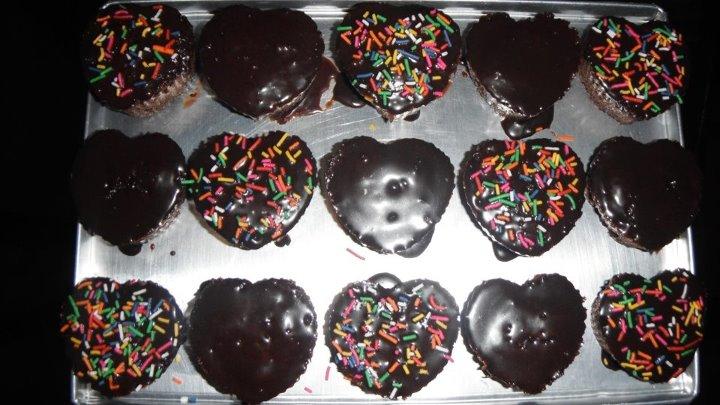 Home Made Chocolate Cupcake