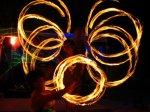 boracay island, philippines fire dance