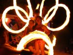 fire dancing boracay island, philippines