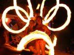 fire dancing boracay island, philippines