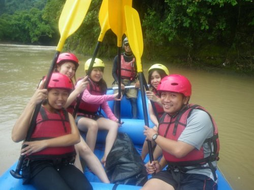 kanpai water rafting davao city 1