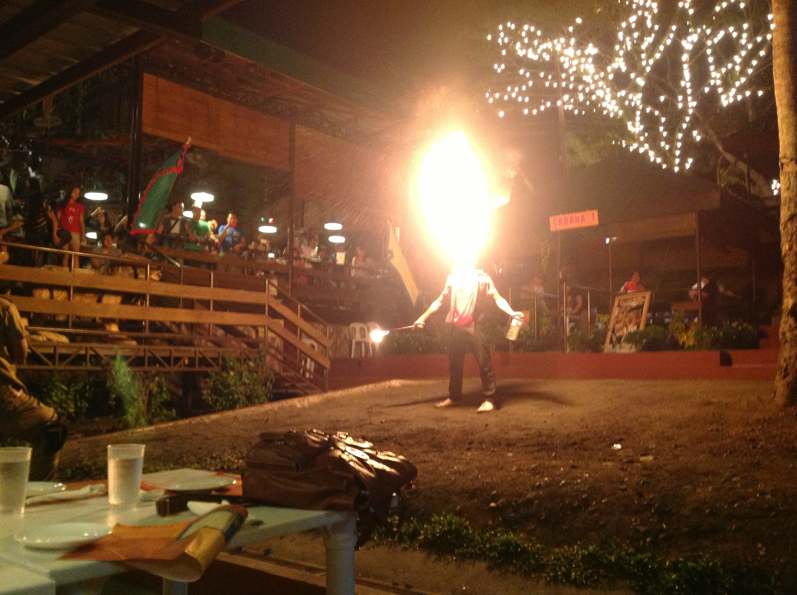 davao, davao restaurant, filipino food, fire dance, firedance, food, food trip, grill, outback, Outback grill davao, restaurant, travel