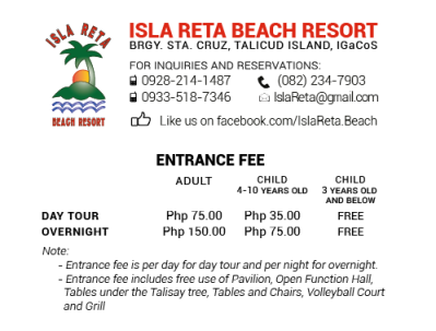 Isla reta beach resort, Isla reta beach resort samal island, Isla reta beach resort samal, samal island resort, IGACOS resorts, beach resorts samal, breach resorts philippines, White sand beach resort samal, samal island beach resorts